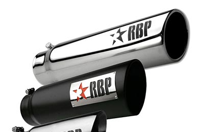 Jeep CJ RBP Round Exhaust Tips
