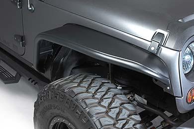 Jeep Wrangler Bushwacker Aluminum Fender Flares