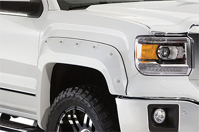 Chevy Silverado Bushwacker Color Match Pocket Style Fender Flares