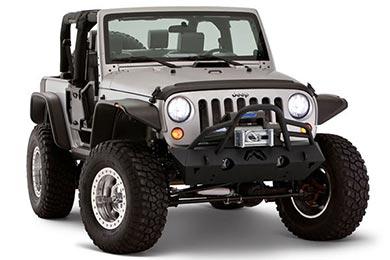 Jeep Cherokee Bushwacker Fender Flares - Flat Style