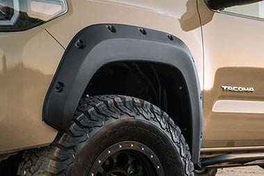 Ford F-250 EGR Matte Black Bolt-On Look Fender Flares