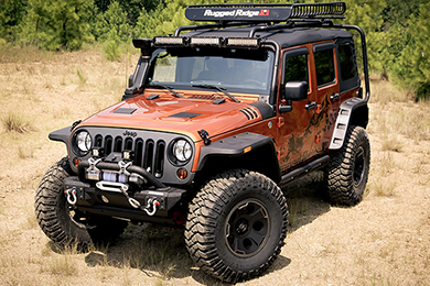 Rugged Ridge Hurricane Flat Fender Flares