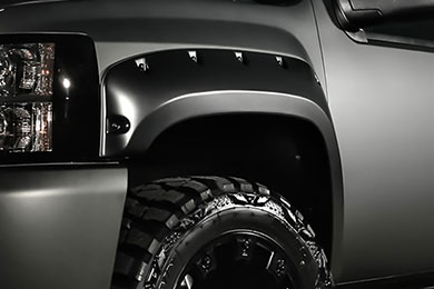 Ford F-250 Superlift Bolt Style Fender Flares