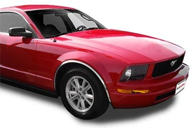 tfp fender trim fa 45 mustang red