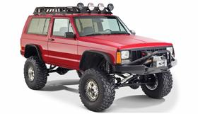 Jeep Cherokee Bushwacker Flat Style Fender Flares