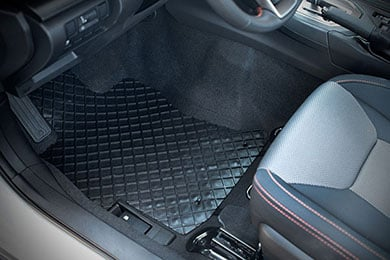 L1CY00501509 Kagu Rubber 3D MAXpider Complete Set Custom Fit All-Weather Floor Mat for Select Chrysler Pacifica Models Black