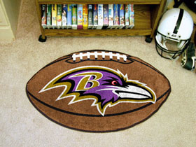 Baltimore Ravens Football Rug