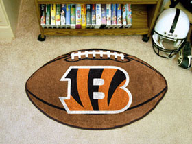 Cincinnati Bengals Football Rug