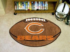 Chicago Bears Football Rug