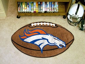 Denver Broncos Football Rug
