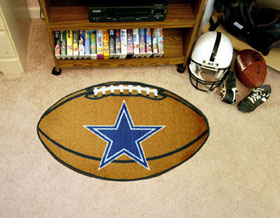 Dallas Cowboys Football Rug