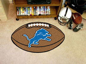 Detroit Lions Football Rug