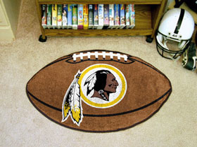 Washington Redskins Football Rug