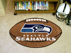 Seattle Seahawks Football Rug