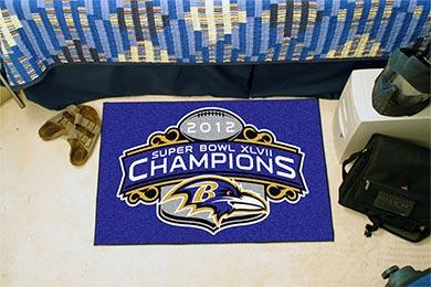 fanmats NFL starter rugs ravens