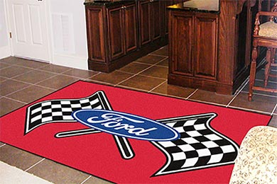FANMATS Ford Ultra Plush Rugs