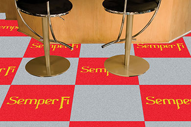 FANMATS Military Carpet Tiles