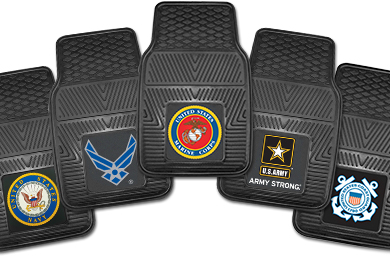 Mercedes-Benz GLK-Class FANMATS Military Vinyl Floor Mats