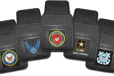 Chevy Corvette FANMATS Military Vinyl Floor Mats