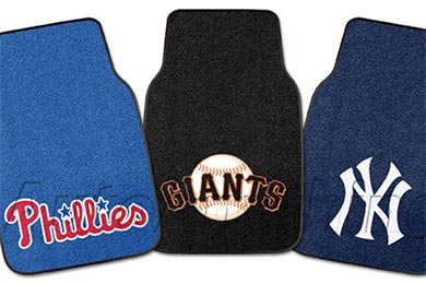 Jeep Wrangler FANMATS MLB Carpet Floor Mats