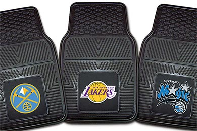 Lincoln Mark III FANMATS NBA Logo Vinyl Floor Mats