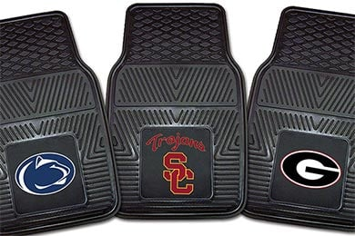 Jeep Patriot FANMATS NCAA Logo Vinyl Floor Mats