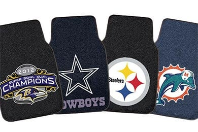 Chevy Tracker FANMATS NFL Carpet Floor Mats