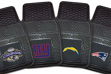 Jeep Patriot FANMATS NFL Vinyl Floor Mats