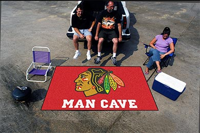 FANMATS NHL Man Cave Ulti-mat Tailgater Mats