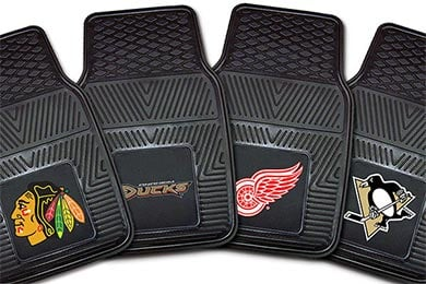 BMW 7-Series FANMATS NHL Vinyl Floor Mats