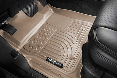 Ford F-350 Husky Liners WeatherBeater Floor Liners