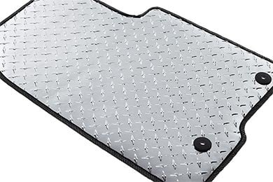 Intro-Tech Automotive Diamond Plate Auto Mat Floor Mats