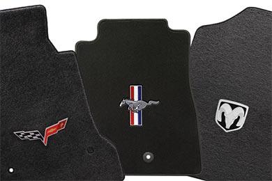 Chevy Corvette Lloyd Mats Logo Floor Mats