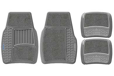 Jeep Commander Michelin Rubber Carpeted Floor Mats