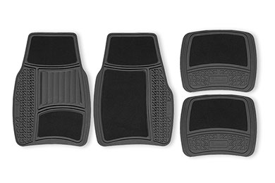 Kia Spectra Michelin Rubber Carpeted Floor Mats
