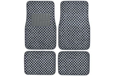 Chevy Corvette Motor Trend Checkered Carpet Floor Mats