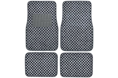 Ford Mustang Motor Trend Checkered Carpet Floor Mats