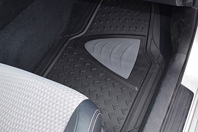 Chevy Corvette Motor Trend Heavy Duty Rubber Floor Mats