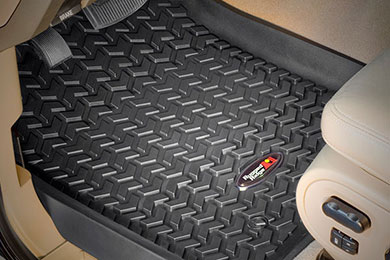 rugged ridge all terrain floor mats 4935 black