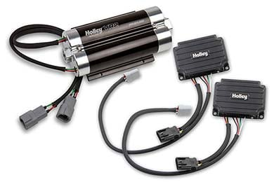holley vr series brushless electric fuel pump hero