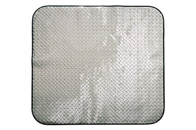 Intro Tech PitStop Diamond Plate Chair Mat