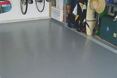 Park Smart Diamond Deck Roll-Out Garage Flooring