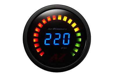 Chevy Camaro Air Zenith Digital Air Suspension Gauge