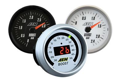 Chevy Camaro AEM Boost Gauge