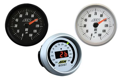 Chevy Corvette AEM Oil Pressure Gauge