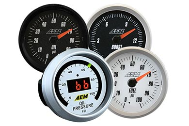 Ford F-150 AEM Pressure Gauge