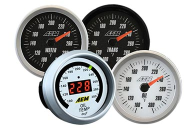 Chevy Corvette AEM Temperature Gauge