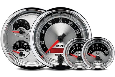 Chevy Corvette AutoMeter American Muscle Gauges