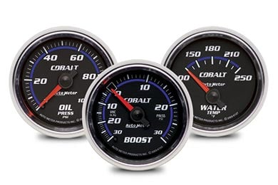GMC Sierra AutoMeter Cobalt Gauges