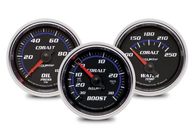 Chevy Camaro AutoMeter Cobalt Gauges